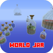 World in a Jar PE MPCE Map icon