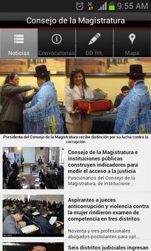 Consejo de la Magistratura apk screenshot