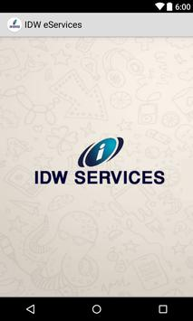 Idw eServices poster