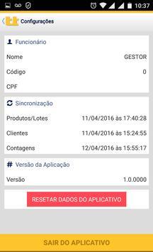 Coletor de Estoque Mobile apk screenshot