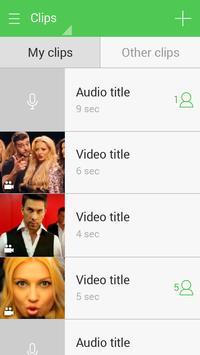 ContactClips screenshot 3