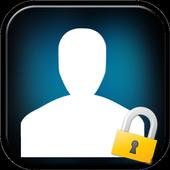 Private hide contacts icon