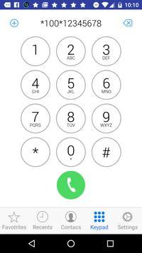 Phonebook Contact style of OS9 apk screenshot