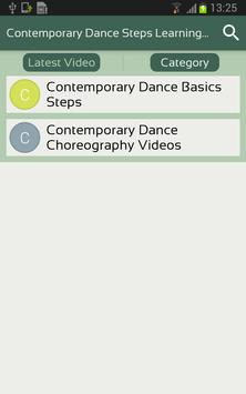 Contemporary Dance Steps Learning Videos App screenshot 2