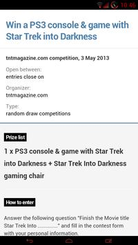 Competitions UK - Free Stuff screenshot 4