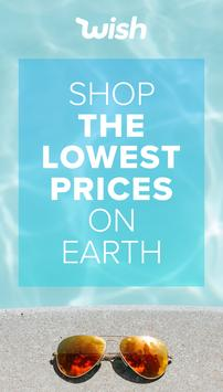Wish -  Shopping & Free Gifts for New Users poster