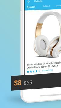 Wish - Para Comprar, Economizar e se divertir! apk imagem de tela