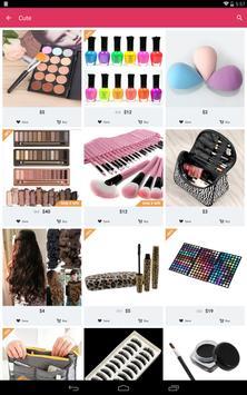 Cute - Beauty Shopping apk screenshot