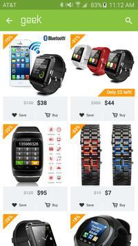 Geek - Smarter Shopping poster