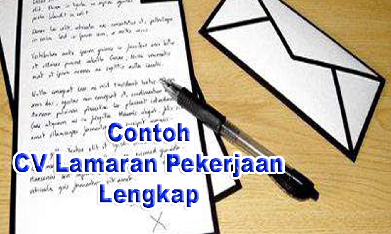 Contoh Cv Lamaran Pekerjaan For Android Apk Download