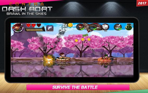 Contra DASH BOAT 2029 screenshot 5