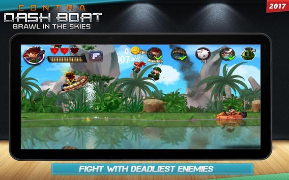 Contra DASH BOAT 2029 screenshot 1