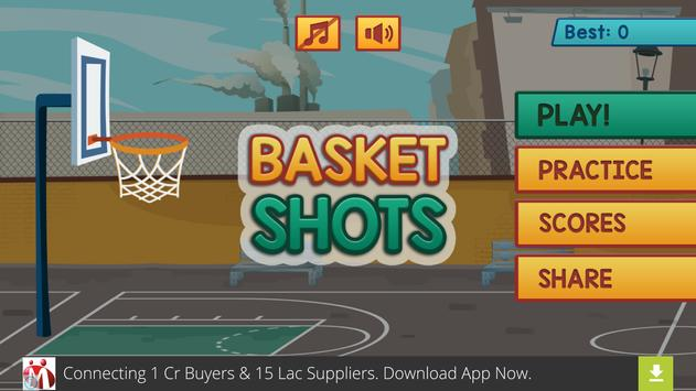 Basket Shots apk screenshot