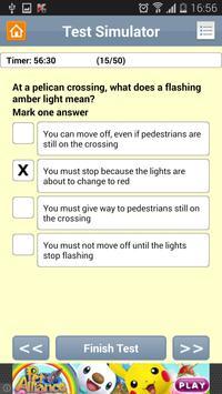 UK Driving Theory Car apk screenshot