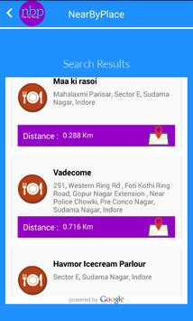 NearBy Places Search apk screenshot