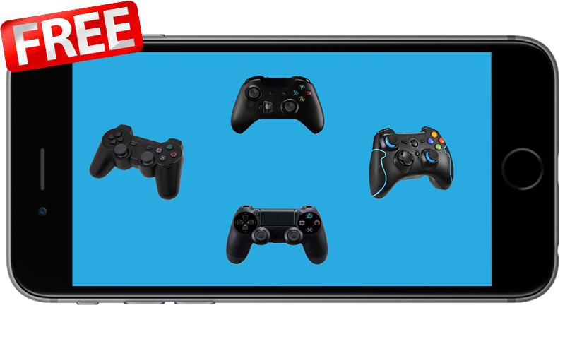 Controller Mobile for Ps3 Ps4 PC XBX360 - New Pro for Android - APK