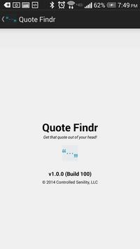 Quote Findr screenshot 2