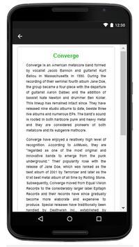 Converge - Music and Lyrics screenshot 4