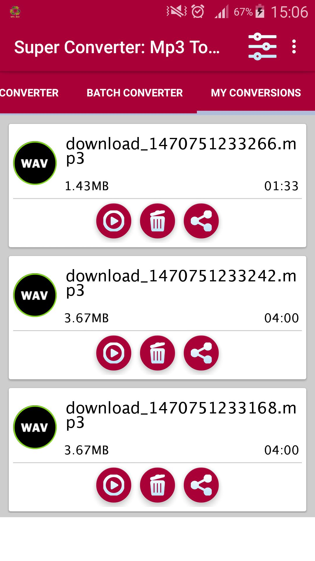 Super Converter Mp3 To Wav For Android Apk Download