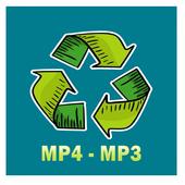 Super Converter : MP4 To MP3 icon