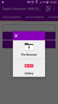 Super Converter : AMR To MP3 apk screenshot