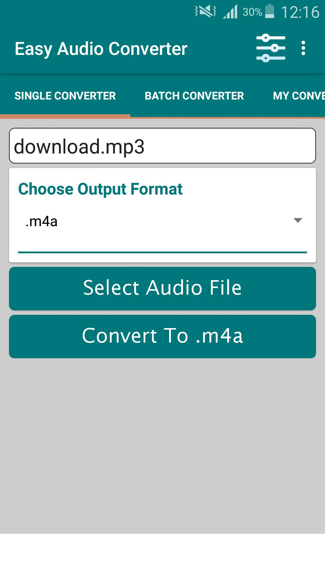 Super Audio Converter for Android - APK Download