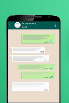 Fake Chat For Whatsapp screenshot 1