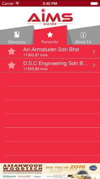 Aims App screenshot 1