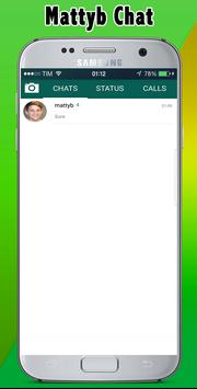chat with mattyb prank for android apk download