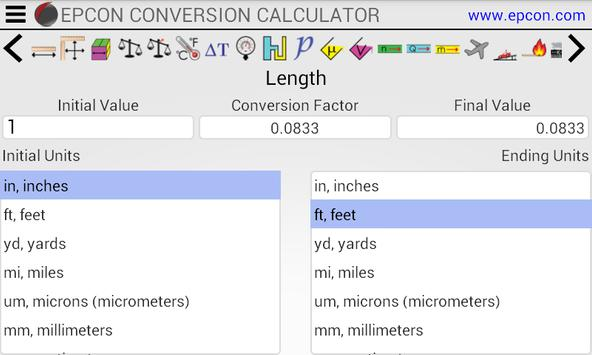 Conversion Calculator for Android - APK Download