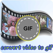 convert video to gif maker icon