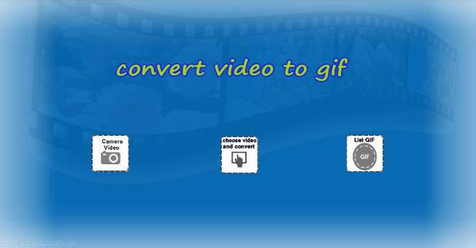 convert video to gif maker apk screenshot