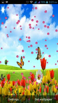 Spring Flowers Live Wallpaper apk screenshot