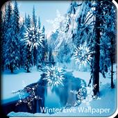 Winter Snowfall Live Wallpaper icon