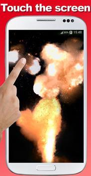 Explosion screen simulator prank screenshot 15