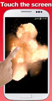 Explosion screen simulator prank screenshot 13