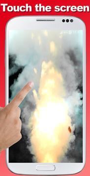 Explosion screen simulator prank screenshot 1