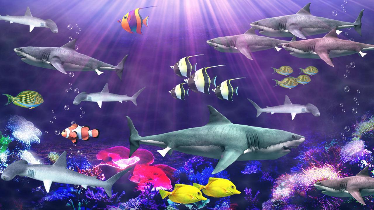 Android 用の サメの水族館ライブ壁紙 Apk をダウンロード