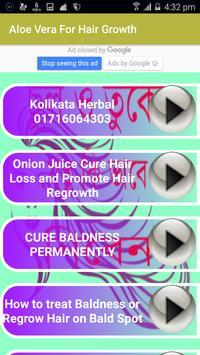 Aloe Vera For Hair Growth apk screenshot