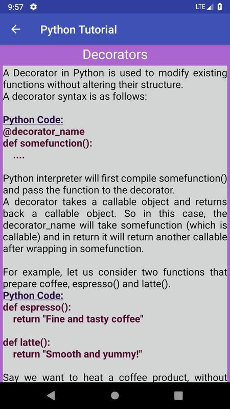 python decorator tutorial