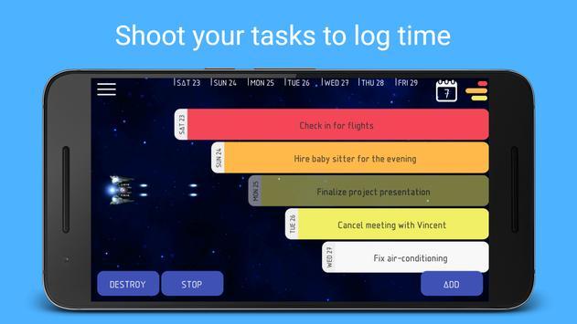 Kosmos - Work Time Tracker, Job Timesheet poster