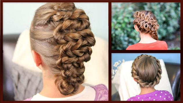 Cute Girl HairStyles poster