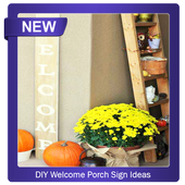 DIY Welcome Porch Sign icon