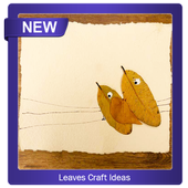 leaf craft ideas icon