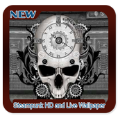 Steampunk HD and Live Wallpaper icon