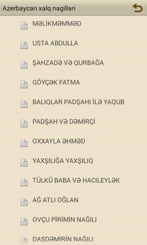 Azərbaycan xalq nağılları apk screenshot