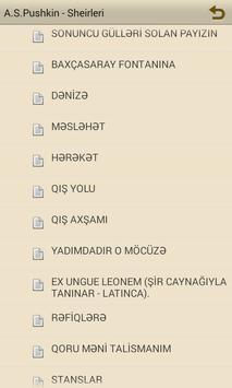 A.S.Puşkin – Şeirləri apk screenshot