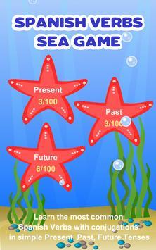 Spanish Verbs Learning Game apk screenshot