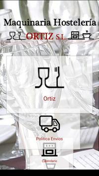 Maquinaria Hostelería Ortiz poster