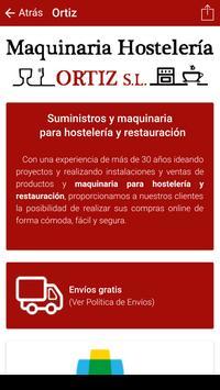 Maquinaria Hostelería Ortiz screenshot 1